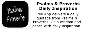 psalms & proverb app icon